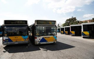 athens-bus-employees-walk-off-job-on-thursday