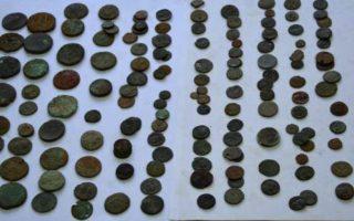 albanian-police-seize-stolen-religious-icons-coins