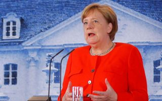 merkel-upbeat-ahead-of-thursday-s-eurogroup