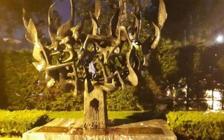 holocaust-memorial-in-thessaloniki-vandalized