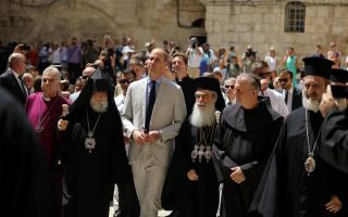 prince-william-meets-greek-patriarch-in-jerusalem0