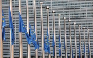 european-commission-flags-lowered-to-half-mast-in-honor-of-greek-wildfires-victims