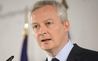 french-finance-minister-in-athens-on-monday-to-boost-bilateral-trade