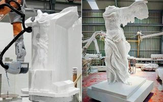 replica-of-nike-of-samothrace-to-be-erected-on-island
