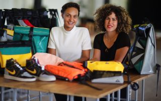 berlin-project-upcycles-refugee-boats-into-bags
