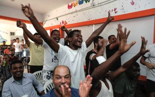 migrants-in-greece-catch-world-cup-fever