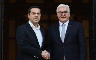 pm-calls-for-fresh-start-in-greek-german-relations-during-steinmeier-visit