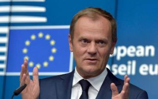 tusk-welcomes-fyrom-parliament-vote-on-name-change