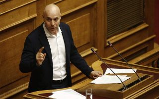 centrist-potami-mp-giorgos-amyras-quits-stripping-party-of-status-as-parliamentary-group