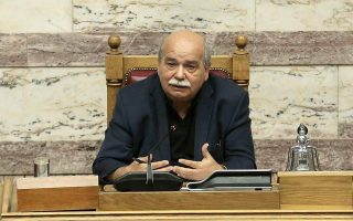 parliamentary-speaker-says-name-deal-to-be-voted-on-late-next-week