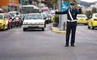 traffic-diversions-in-athens-on-sunday