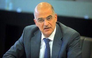new-government-to-seek-consensus-in-foreign-policy-dendias-says