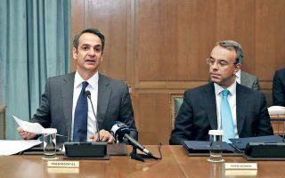 mitsotakis-meets-with-his-finance-minister