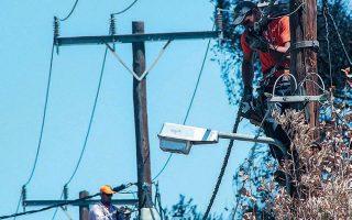 electricity-restored-in-poros-after-plane-crash