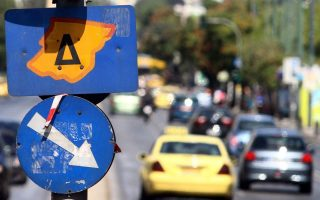 vehicle-restrictions-return-in-central-athens