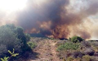 tourist-camp-at-elafonisos-evacuated-again-as-fire-rages