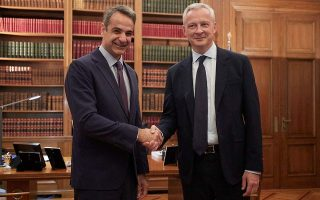 pm-meets-with-french-finance-minister-ahead-of-paris-visit