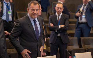greek-turkish-defense-ministers-discuss-aegean-cbms-in-brussels