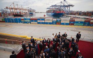 greek-pm-chinese-president-visit-cosco-premises