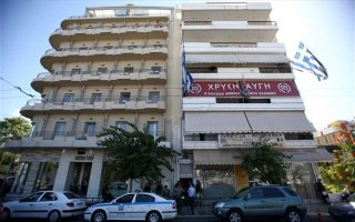 assailants-attack-golden-dawn-offices-in-central-athens