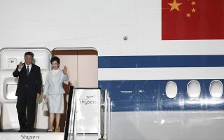 chinese-president-xi-jinping-arrives-in-greece-for-visit