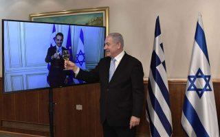 mitsotakis-netanyahu-toast-to-30-years-of-greek-israeli-diplomatic-relations