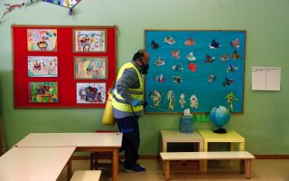 schools-nurseries-given-scrub-down-ahead-of-monday-opening