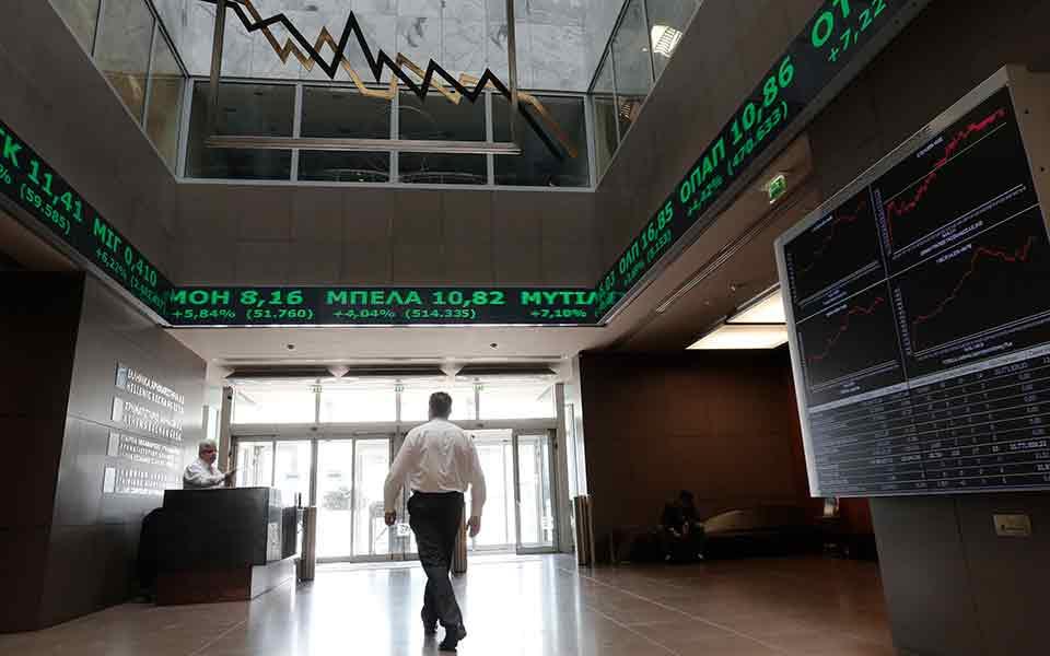 ΧΑ: Η Alpha οδηγεί τον δείκτη χρηματιστηρίου υψηλότερο