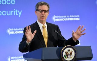 us-envoy-for-religious-freedom-calls-on-turkey-to-keep-hagia-sophia-as-museum