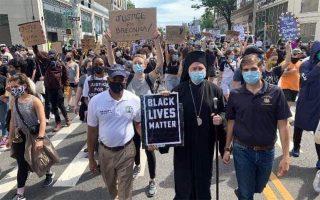 archbishop-elpidophoros-joins-protest-march-in-brooklyn