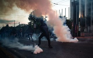 five-arrested-in-george-floyd-protest-march-in-athens
