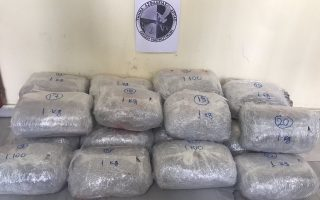 police-make-20-kg-marijuana-haul-in-western-greece