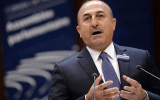 cavusoglu-turkey-not-concerned-over-greek-italian-maritime-deal
