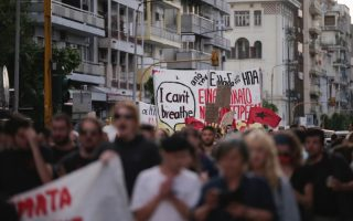thessaloniki-rally-in-protest-at-george-floyd-s-death