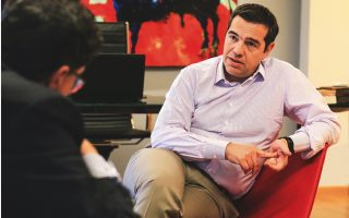 calling-a-snap-poll-would-be-opportunistic-tsipras-tells-kathimerini