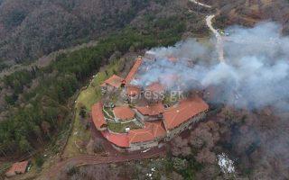blaze-destroys-section-of-byzantine-monastery-in-phocis