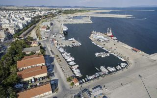 [File photo of Alexandroupoli port]