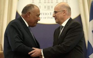 dendias-holds-telephone-call-with-egyptian-counterpart