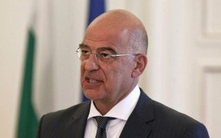 dendias-dialogue-with-turkey-cannot-be-held-at-gunpoint