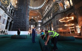 hagia-sophia-to-host-first-muslim-prayers-since-reverting-to-a-mosque