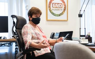 imf-managing-director-praises-covid-response-warns-of-recession-in-kathimerini-interview