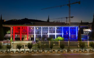 us-embassy-building-lit-in-red-white-and-blue-for-the-4th-of-july0
