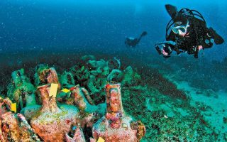 ancient-amp-8216-acropolis-of-the-sea-amp-8217-opens-to-divers-guarded-by-high-tech0