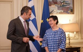east-med-developments-at-the-center-of-talks-between-mitsotakis-spanish-foreign-minister