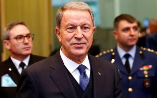 akar-criticizes-greece-says-turkey-ready-for-talks-without-preconditions