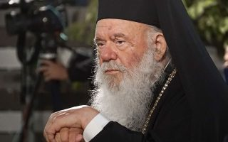 archbishop-ieronymos-seen-leaving-hospital-monday