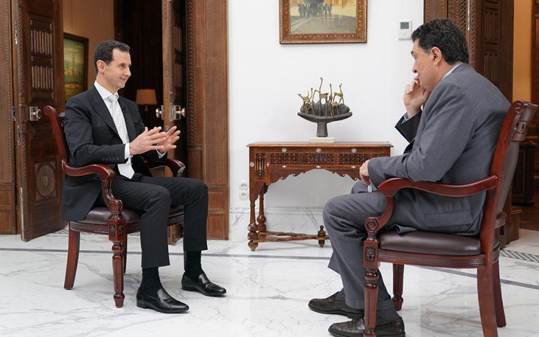 video-of-bashar-al-assad-amp-8217-s-exclusive-interview-with-kathimerini0