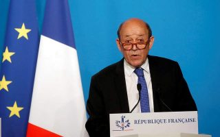 french-foreign-minister-on-working-visit-to-athens