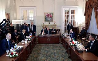 foreign-ministers-discuss-libya-crisis-eastmed-in-cairo
