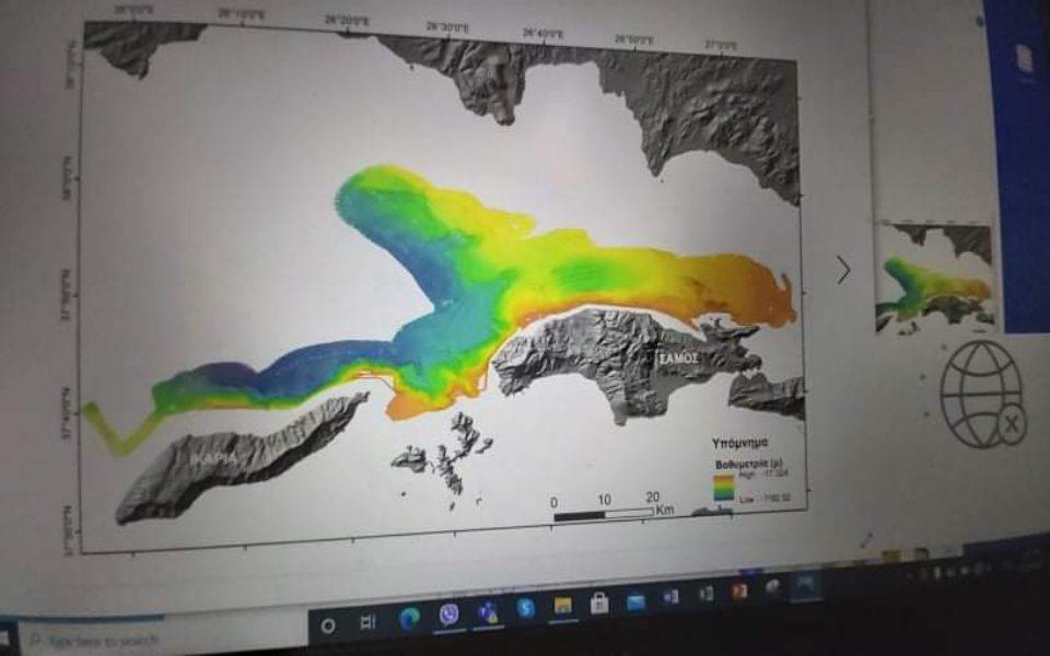 Researchers map ocean floor around Samos to study active faults | eKathimerini.com